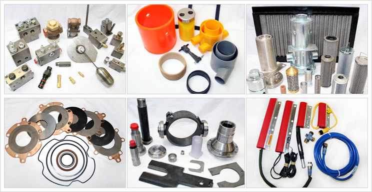 Replacement parts for coal mining machinery
